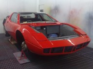 Maserati Bora respray photos
