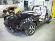 Porsche 911 Targa (1972) Restoration