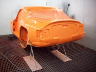 TVR Vixen 1969 Respray & Restoration
