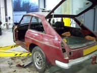 MGB GT V8 Restoration