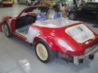Porsche 964 Convertible restoration (USA spec, LHD)