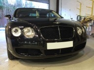 Bentley GTC respray grill & brake caliper finishers