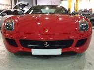 Ferrari 599 GTO Grille